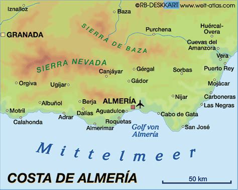san jose map spain map of costa de almeria spain map in the atlas of the