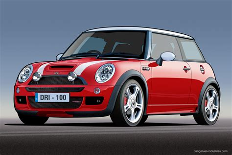 bmw minivan bmw mini jcw vector by dangeruss on deviantart