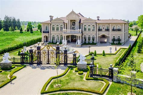 mansions for sale versailles of vaughan up for sale for 17 8 million