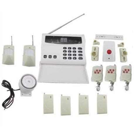 wireless security system motion sensor phone auto dialer