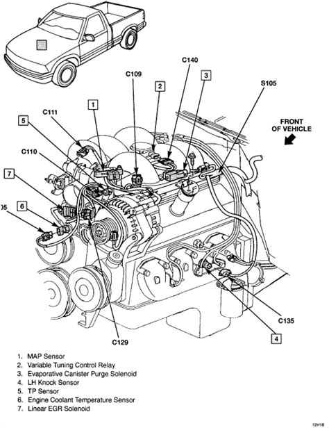 chevrolet 4 3l v6 engine diagram get free image about