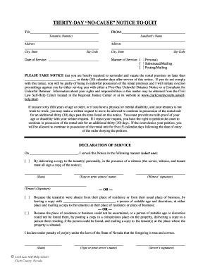 california civil code section 1946 30 day notice to tenant forms and templates fillable