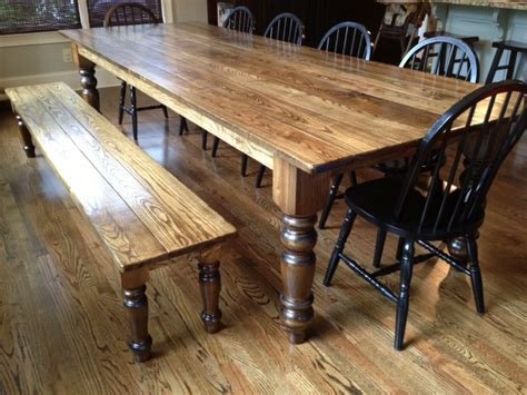 Woodwork How To Make A Dining Table Bench Pdf Plans