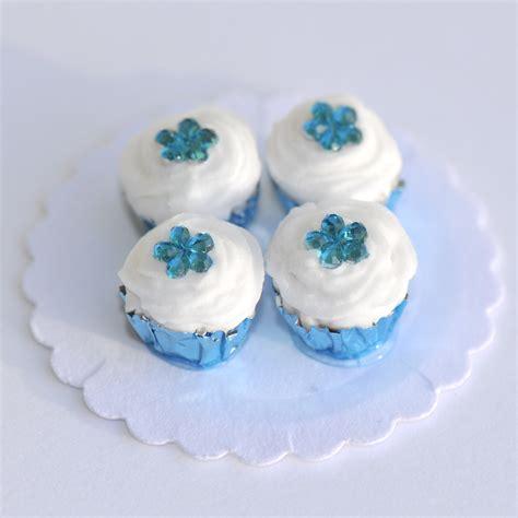 Creative Ideas For Home Interior blue gem flower cupcakes stewart dollhouse creations