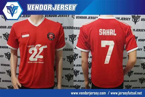 Sablon Nameset Dan Nomor Punggung Baju Futsal Sepak Bola Pembuatan Baju Olahraga Futsal Acara Ulang Tahun Telkomsel