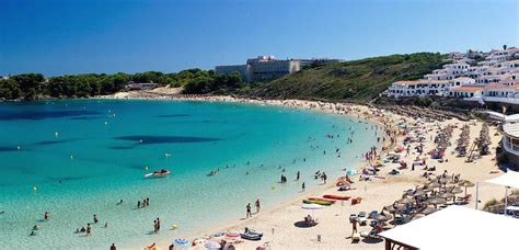 beaches  families  children  menorca