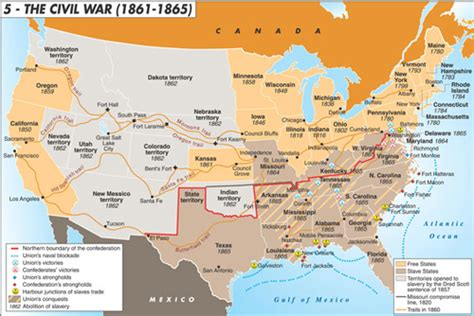 map of united states during civil war maps united states map during the civil war