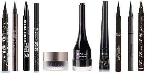 Eyeliner The One 50 liquid and gel eyeliner reviews
