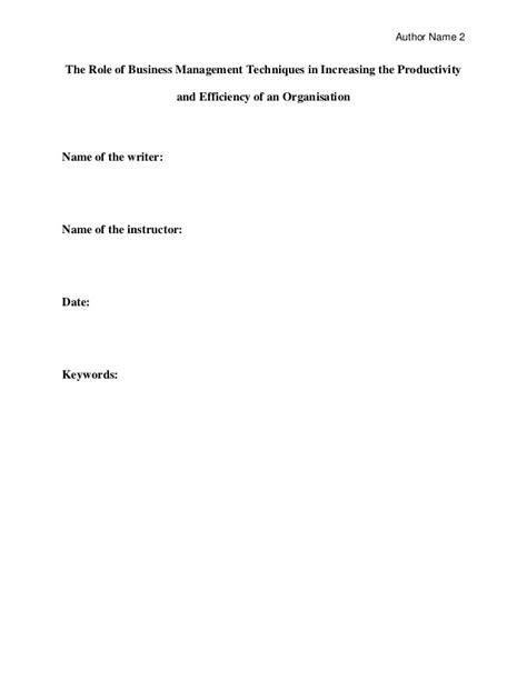 dissertation business management business management dissertation sle for mba students