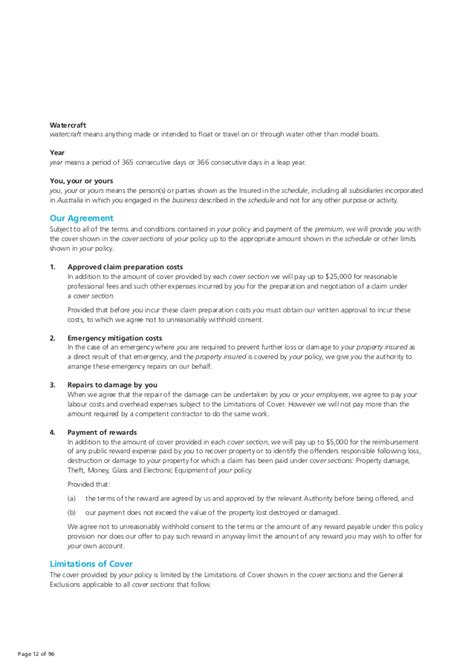 youi boat insurance pds zurich insurance pds business pack