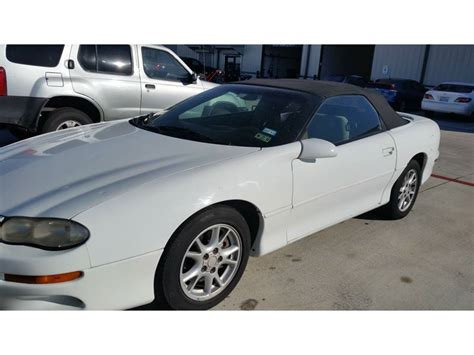 2001 camaro for sale 2001 chevrolet camaro for sale by owner in cypress tx 77429