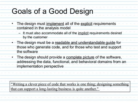 design requirements meaning requirements analysis and design