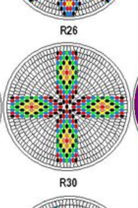 Southern Beading Medallion Template Beading Patterns