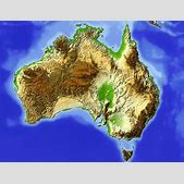 Karte Australie...