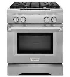 kitchenaid 174 30 inch 4 burner dual fuel freestanding range