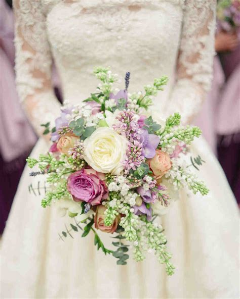 Wedding Bouquet Lilac by Fresh Fragrant Lilac Wedding Bouquets Martha Stewart