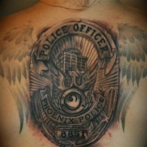 police badge tattoo 17 best images about fallen officer on