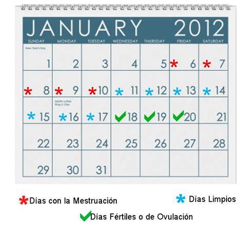 Calendario De Ovulacion Gratis Calculadora De Fertilidad Exacta