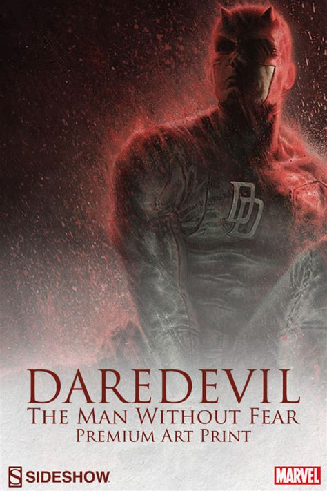daredevil the man without marvel daredevil the man without fear premium art print by sideshow collectibles