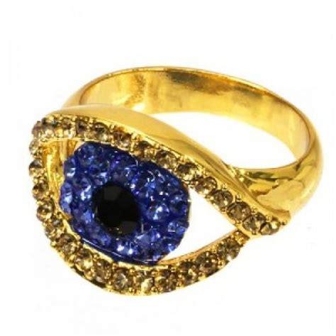gold evil eye ring princess p jewelry