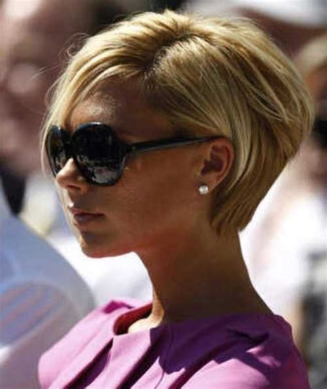 victoria beckham in honey blonde hair pic 15 victoria beckham short blonde hair short hairstyles
