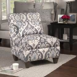homepop blue slate large accent chair grey grayfabric