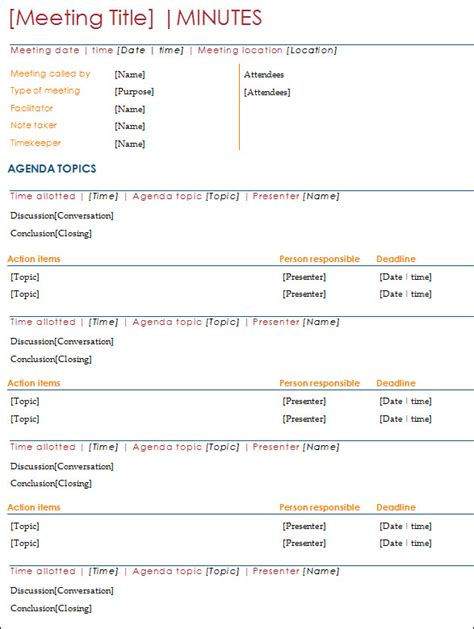 simple meeting minutes template free search results for simple meeting minutes calendar 2015