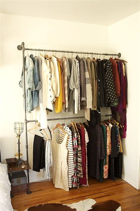Makeshift Closet by 21 Really Inspiring Makeshift Closet Designs For Small Spaces