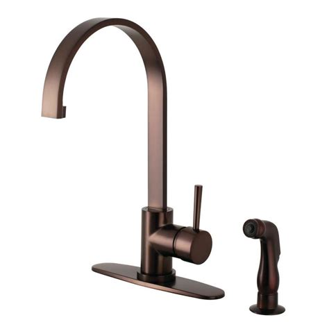 shop kingston brass continental oil rubbed bronze 1 handle shop kingston brass concord oil rubbed bronze 1 handle