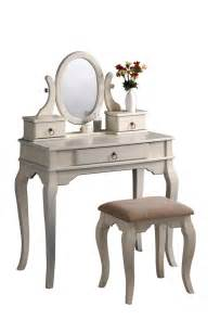 Vanity Mirror Stool Set Vanity Tables With Oval Mirror