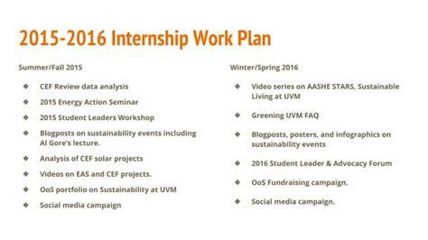 intern program sustainability internship program uvm office of