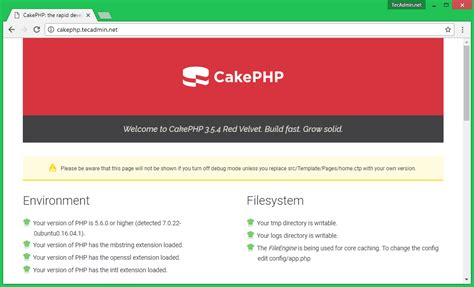cakephp date format how to install cakephp 3 5 on centos rhel 7 6 fedora 26 25