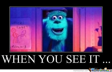 Monster Meme - monsters inc by al3xc0j93 meme center