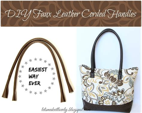 making it lovely let s make it lovely diy round corded bag handles the