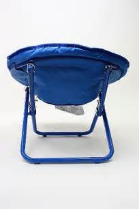 Blue Saucer Chair by Marvel The Amazing Spider Blue Folding Mini Saucer Chair