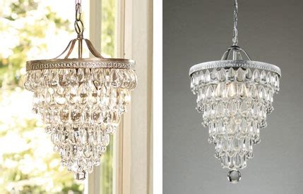 Reasonably Priced Chandeliers Pottery Barn S Clarissa Chandelier Is Beautiful But