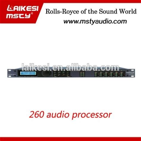 Box Audio Processorgross Clf 260 dbx260 2in 6out digital audio processor with stable quality as pa260 buy digital audio