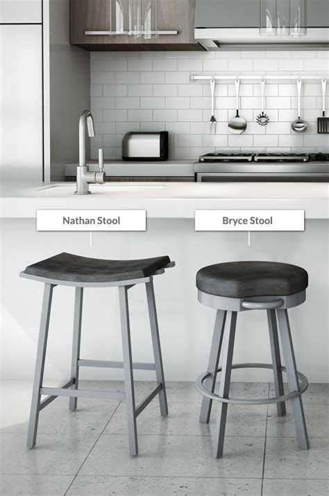 buy amisco nathan modern saddle bar stools barstool comforts