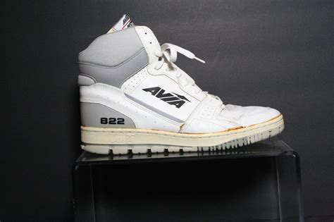 basketball shoes from the 80s avia 822 vintage basketball sneakers athletic multi white