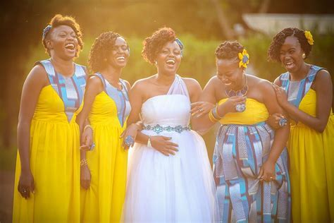 African bridesmaids dresses lovely   African attire