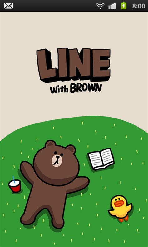 theme changer line brown special see it first on android a new brown theme and 46 new