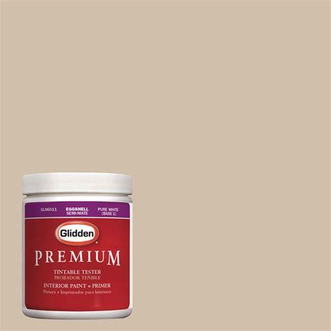 glidden premium 8 oz hdgwn07 desert sand interior paint tester hdgwn07 08p the