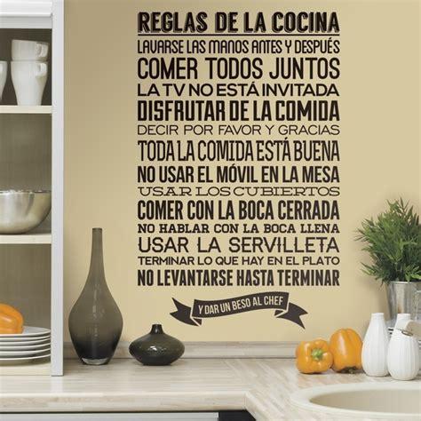 cucina in spagnolo adesivi murali per cucina stickers murali