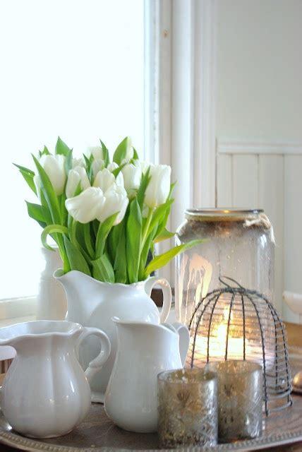 dale  toque primaveral  la decoracion  tulipanes