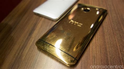gold wallpaper htc one hands on with the real gold htc one android central
