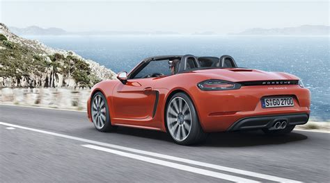 porsche boxster 2016 price 2016 porsche 718 boxster pricing and specifications