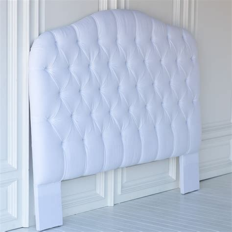 tufted linen headboard lily tufted headboard in linen by the beautiful bed company