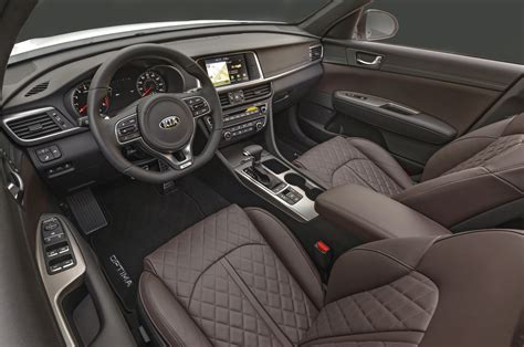 Kia Optima Sxl Interior Premier Coup D œil Kia Optima 2016