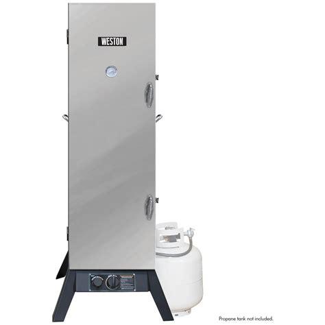 weston propane smoker 48 quot 166940 grills smokers at