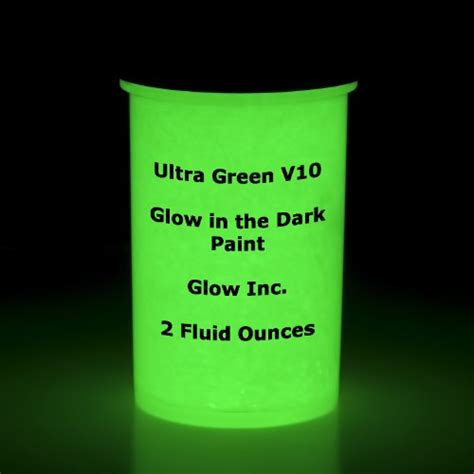 glow in the paint glow inc ultra green v10 glow in the paint 2oz buy usa quality